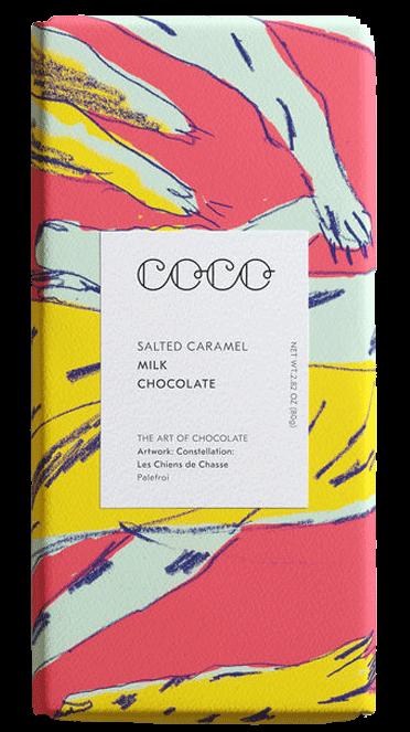 Salted Caramel Milk Chocolate 80 g