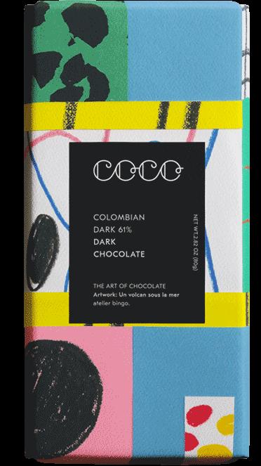 Colombian Dark Chocolate 61%  80 g
