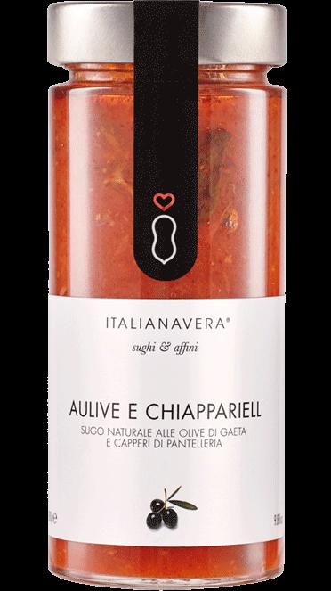 Tomatensugo «Aulive e Chiappariell» mit Oliven und Kapern 280 g