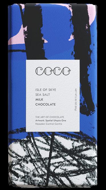 Isle of Skye Sea Salt Milk Chocolate 80 g