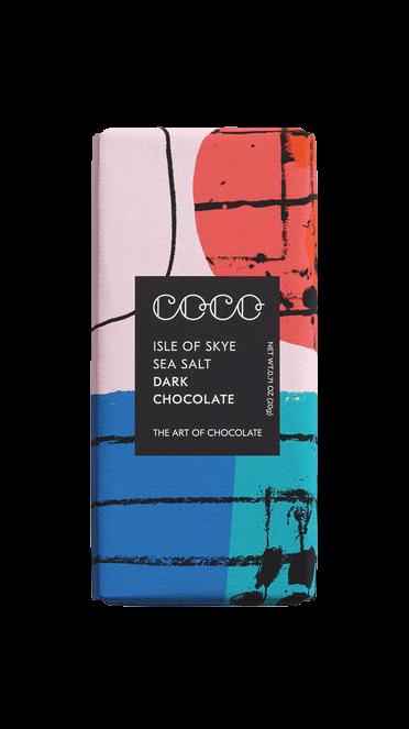 Mini Isle of Skye Sea Salt Dark Chocolate 20 g