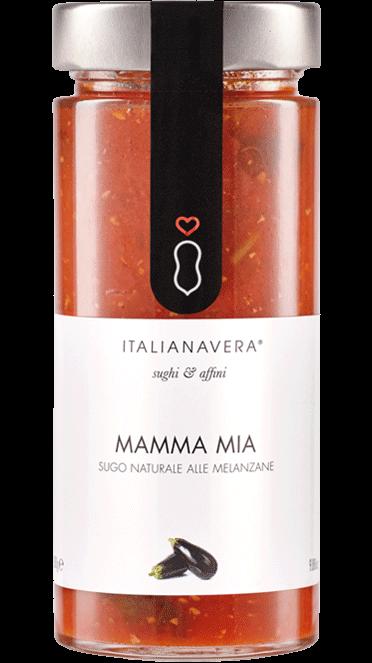 Tomatensugo «Mamma Mia» mit frischer Aubergine 280 g